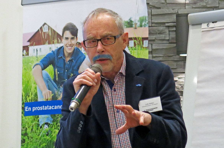 Calle Waller, vice ordförande i Prostatacancerförbundet. Foto: Torsten Sundberg