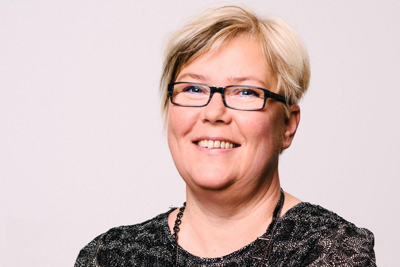 Tina Norgren, förbundsordförande i Psoriasisförbundet