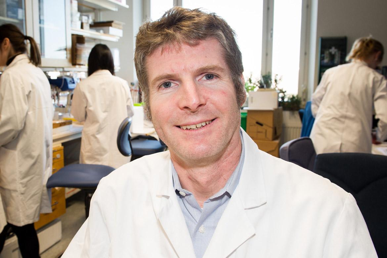 Peder Olofsson, forskare institutionen för medicin, Karolinska Institutet Foto: Karolinska Institutet