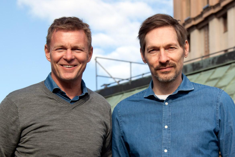 Thomas Ehrengren och Christian Tärnholm, grundare MediCheck