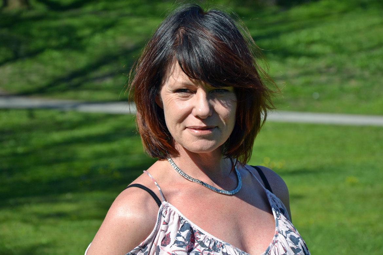 Nadja Öström, ordförande Sköldkörtelföreningen