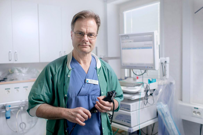 Magnus Sköld, professor i lungmedicin på Karolinska Institutet. Foto: Jonas Larsson