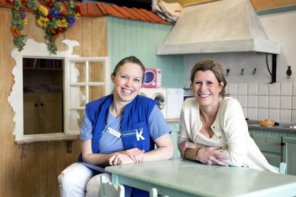 Nina Hultman, Annika McCarthy, Barnonkologen Astrid Lindgrens Barnsjukhus.