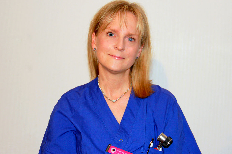 Charlotte Sparrings, överläkare, processledare för hudtumörprocessen, Skaraborgs sjukhus