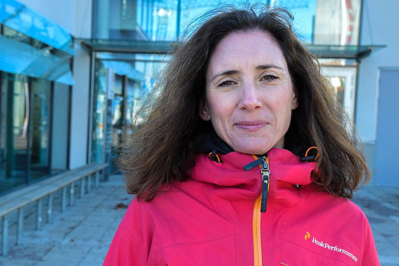 Cecilia Bergh, sjukgymnast och doktorand på Universitetssjukhuset i Örebro