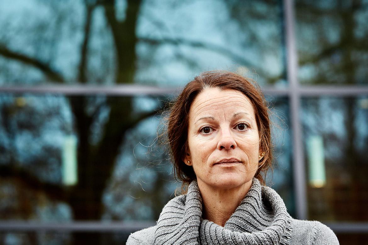 Pernilla Wittung Stafshede, professor och chef för avdelningen kemisk biologi på Chalmers