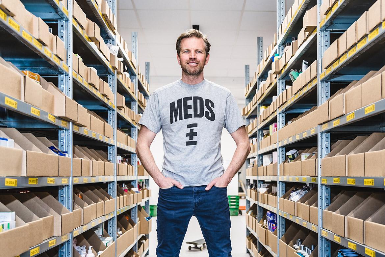 Björn Thorngren, VD på MEDS