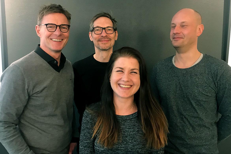 Thomas Ehrengren, Christian Tärnholm, Pierre Stenberg, Sanna Kemi