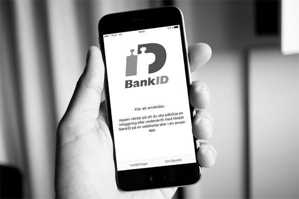 Säker inloggning med BankID